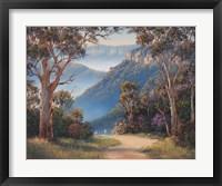 Framed Spring Morning - Katoomba