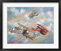 Framed Red Baron Bugs Out