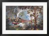 Framed Puffing Billy 1