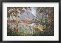 Framed Puffing Billy 2