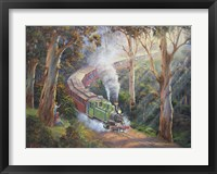 Framed Puffing Billy In Sherbrook Forest