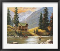Framed Fly Fisherman