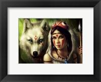 Framed Warrior Princess
