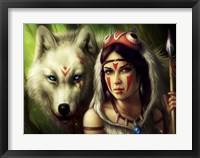 Framed Warrior Princess