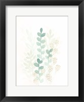 Framed Sprout Flowers I