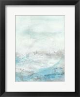 Glass Sea III Framed Print