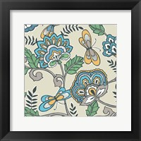Namaste Floral II Framed Print