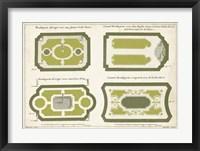 Framed European Garden Design V
