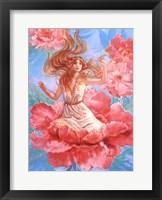 Framed Peony Fairy