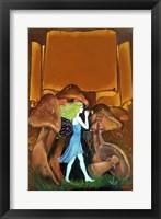 Framed Mushroom Fairy