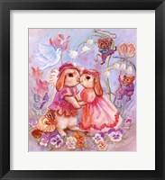 Framed Bunny Wedding