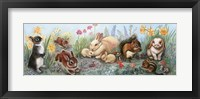 Framed Little Animals Border