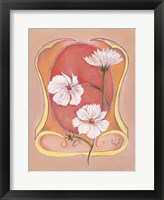 Art Deco Cosmos Framed Print