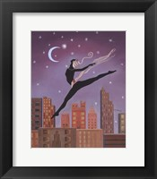 Framed Art Deco Leap