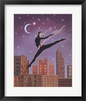 Framed Art Deco Leap