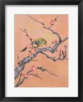 Framed Asian Bird 1