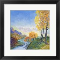 Framed Autumn River
