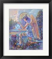 Framed Guardian Angel Of The World