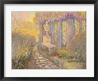 Framed Wisteria Arbor