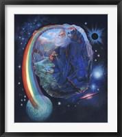 Framed Rainbow Wizard