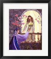 Framed Romeo And Juliet's Balcony