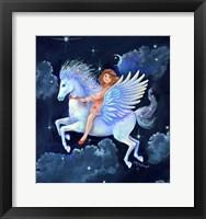 Framed Fly-Away-Horse