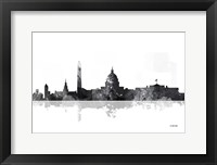 Framed Washington DC Skyline BG 1