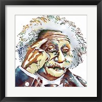 Framed Albert Einstein