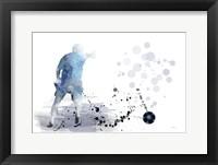 Framed Soccer Player 6
