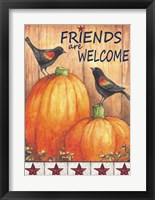 Framed Friends Welcome