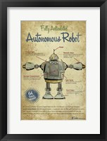 Framed Autonomous Robot