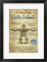 Electric Auto Framed Print