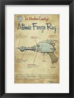 Freeze Ray Framed Print