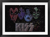 Framed KISS - Face Off Multi Color
