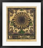 Framed Apple Sunflower 2