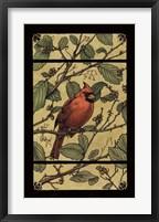 Framed Apple Cardinal
