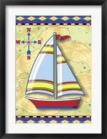 Framed Nautical V