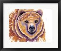 Framed Grizzly Bear