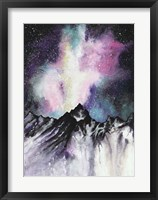 Framed Starruption Galaxy Landscape