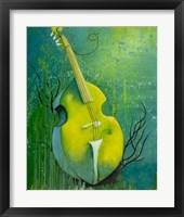 Framed Sunken Dreams Cello