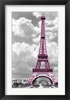 Framed Paris Pink