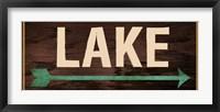 Framed Lake Sign 2