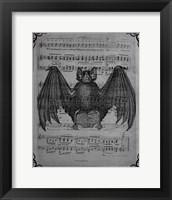 Framed Vintage Bats 2