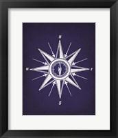 Framed Vintage Compass 2