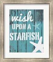 Framed Wish Upon A Starfish
