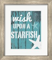 Framed Wish Upon A Starfish
