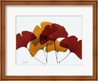 Framed Gingko Fall