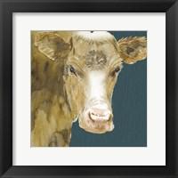 Framed Hogans Brown Cow