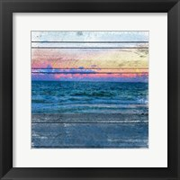 Framed Beach Blues 2