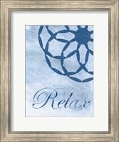 Framed Relax Blue Spa 2